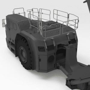 5542677 TH663 SANDVIK Rear Low Folding