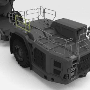 5600322 TH663 SANDVIK Front Low Folding