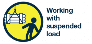 Working with suspended load