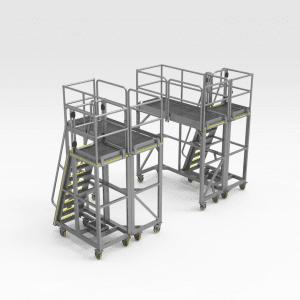 Sandvik LH517/LH621 Lifting Arm Access Platform Set