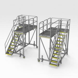 Caterpillar R3000 Front Lifting Arm Access Platform Set