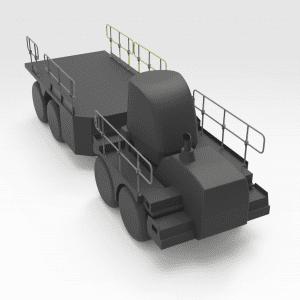 Rhino Handrail LH Rear No.2