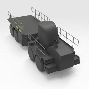 Rhino Handrail with Kickplate No.3