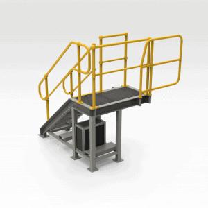 Caterpillar Bucket Repair Access Platform