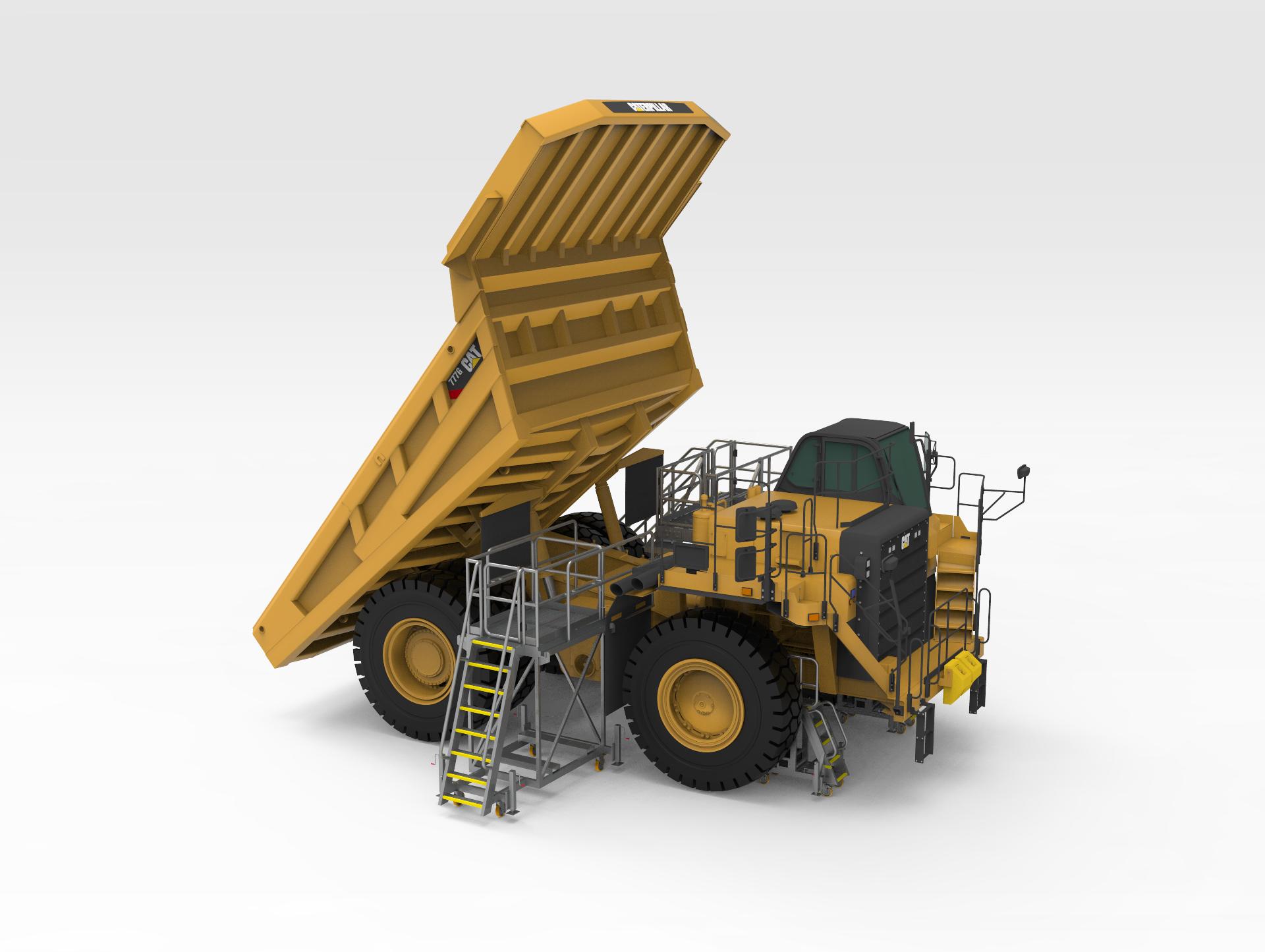 CAT 777G Dump Truck Platforms 1 15