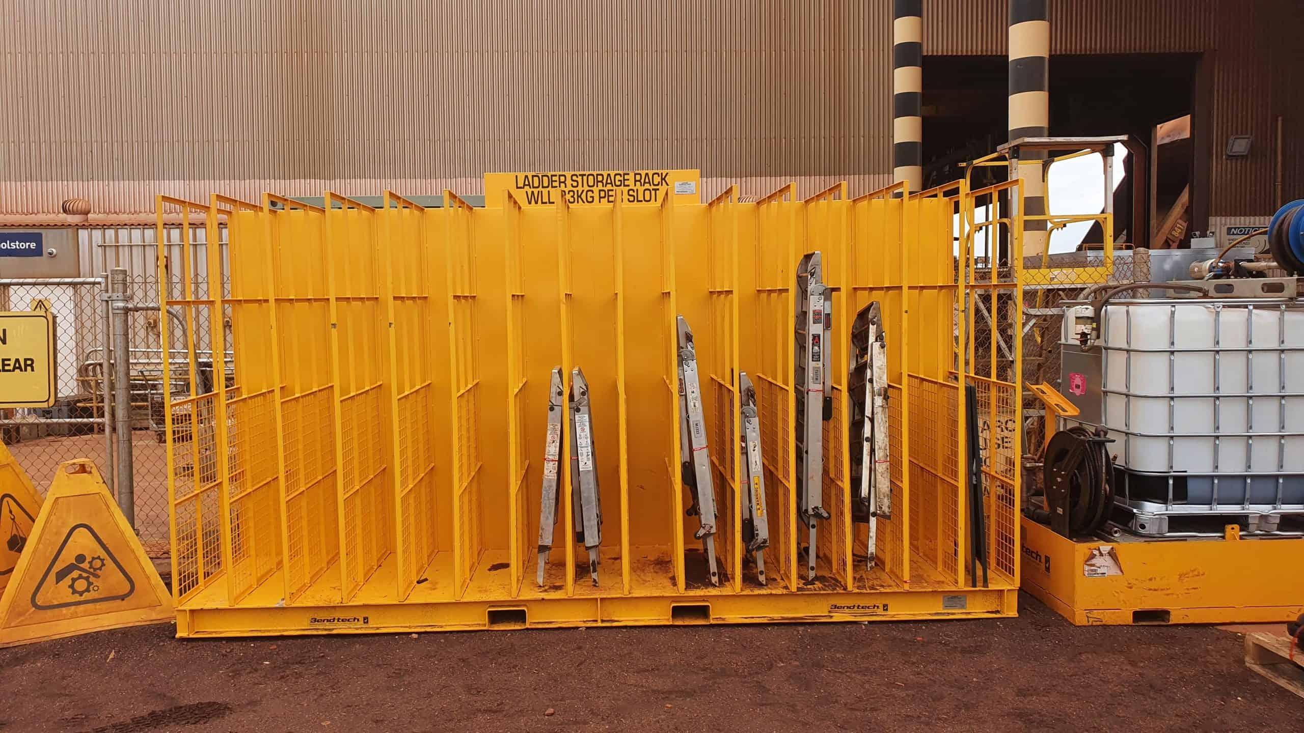 Ladder Storage Rack 1