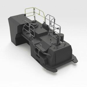 5600332 Sandvik LH307 Isometric